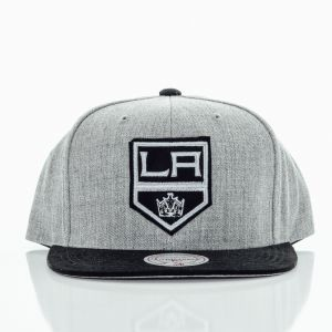 Snapback Mitchel & Ness Heather Micro Laking Grey Black Štandardná