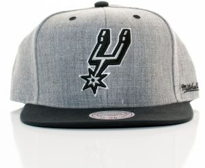 NBA snapback Back Board Nba San Antonio Spurs Grey Black Štandardná