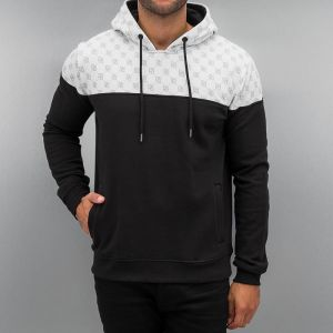 All Over Hoody Jet Black/Bright White 3XL