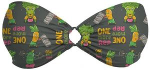 O-Wire Bandeau Funny Vegetables S