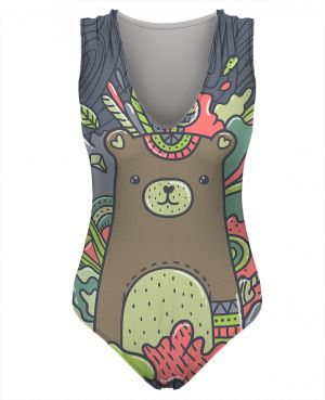 Swimsuit Abstract Bear S