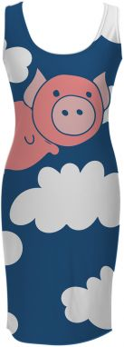 Simple Dress When Pigs Fly XS