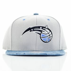 Snapback Mitchel & Ness Orlando Magic Grey Štandardná