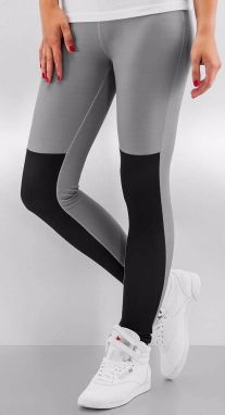 Two Tone Leggings Grey/Black XXS
