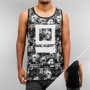 Skull Tank Top Black 3XL