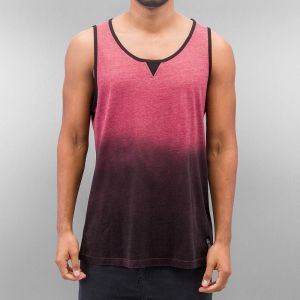 Milton Tank Top Burgundy/Black S
