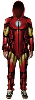 Iron Man Onesie Front 4XL