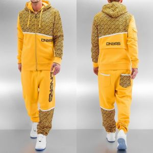 All Over II Sweat Suit Yellow S