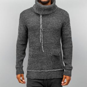 Knit Sweater Anthracite Bone S