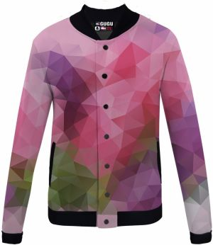 Baseball Jacket Violet Geometric XS