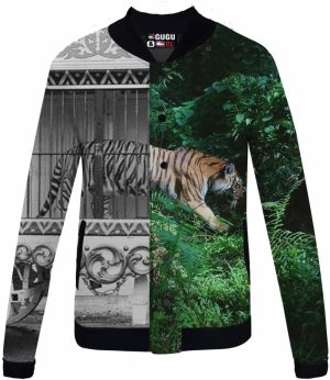 Baseball Jacket Tiger Cage XS