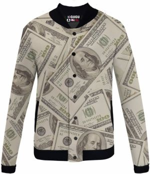 Baseball Jacket Dollar XS