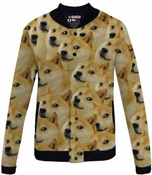 Baseball Jacket Doge XS