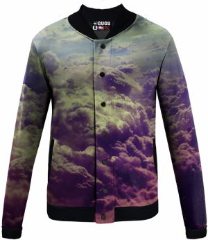Baseball Jacket Clouds XS