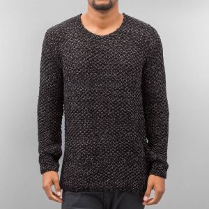 Knit Sweater Black/Antracite S