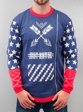 Star Sweatshirt Blue XXL