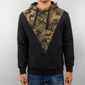 Triangle Hoody Black/Camouflage S