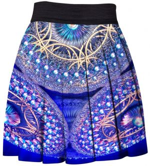 Skirt Blue Mandala XS