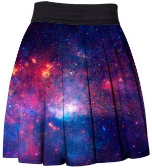 Skirt Purple Nebula XS