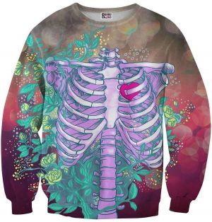 Sweater Heart In Chest 4XL