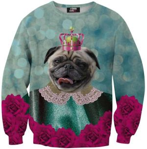 Sweater King Of Pugs 4XL