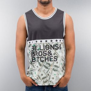 Billions Bros Bitches Tank Top Black S