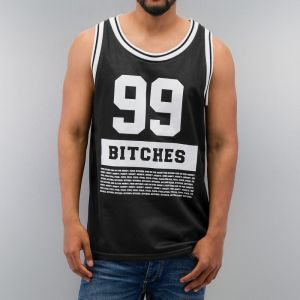 99 Bitches Tank Top Black S