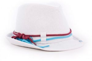 Klobouk Laced Hat White S/M