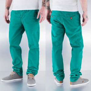 Slim Fit Chino Pants Green W33/L34