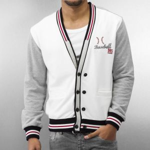 Baseball Cardigan Off White XXL