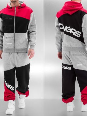 Sweat Suit Grey/Black/Red 6XL