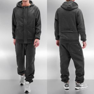Rock Sweat Suit Charcoal Melange L