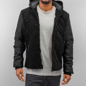 Quilted Winter Jacket Black M