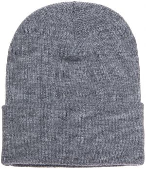 Heavyweight Long Beanie Heather Grey Štandardná