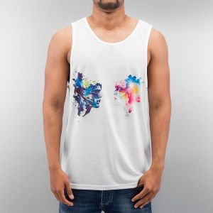 Face Tank Top White S