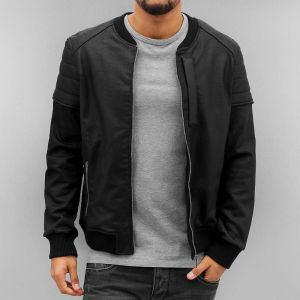 Waxed Jacket Black XL
