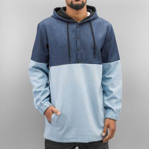 Nelio Hoody Dark Blue Denim/Light Blue Denim 3XL