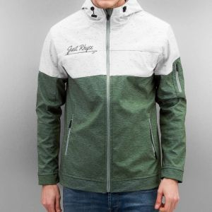 Melange Jacket Green/Grey S