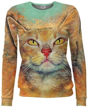 Women Fit Ginger Cat farebné XS