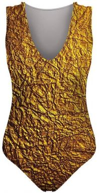 Swimsuit Gold S