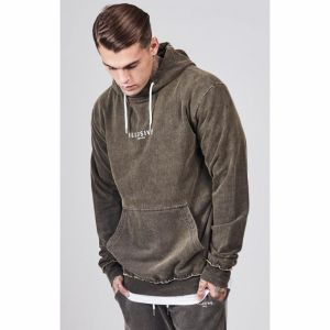 Mikina Illusive London Dusky Oversize Grey XL