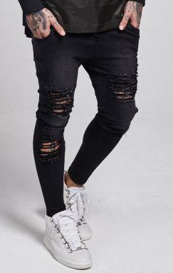 Jeans Illusive London Skinny Washed Black 36