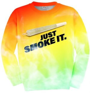 Sweater Just Smoke It XS