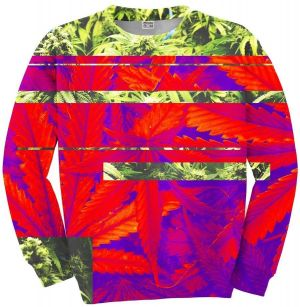Sweater Cannabis XS