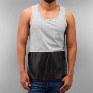 PU Tank Top Grey S