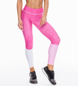 Long Leggingstricolor Bubblegum XS
