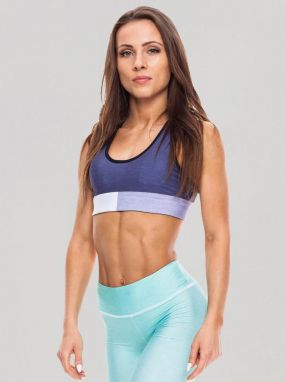 Sports Crop Toptricolor Galaxy Blue XS