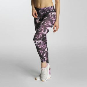 Skullpattern Leggings Pink XS