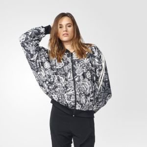 Bunda adidas Originals Florido Cape Black White XS