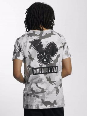 Camo T-Shirt White/Black XXL
